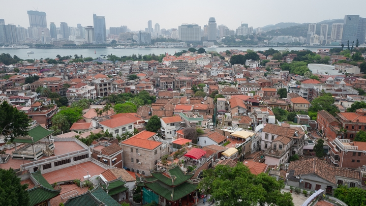 roofs over Gulangyu